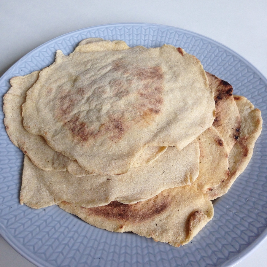 glutenfria tortillabröd recept